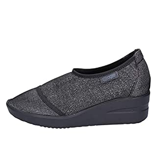 Agile By Rucoline Loafers-Shoes Womens Black 6 UK