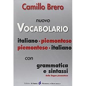 Nuovo vocabolario italiano-piemontese, piemontese-
