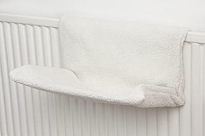 FiNeWaY@ Cat & Dog Radiator Bed, Warm And Cosy Pet Radiator Bed With A Strong Durable Metal Frame And Comfortable Fleece Cover -Ideal For Cats And Even Small Dogs Or Puppies