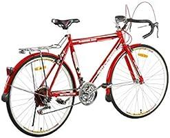 دراجة سباق هوائية من فيتنيس مينيتس، سريعة، متوفرة باللون الاحمر