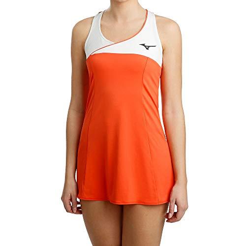 Mizuno Damen Amplify Dress Kleid, Hot Coral, m