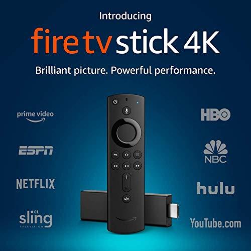 Preisvergleich Produktbild jiilwkie Fire TV tick 4K with All-New Alexa Voice Remote,  treaming Media Player