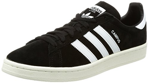 quality design f3b6c d22a3 Adidas Campus, Zapatillas para Hombre, Negro (Core Black Footwear Chalk  White 0