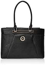 Elle Women's Handbag (Black) (EEAB0024)