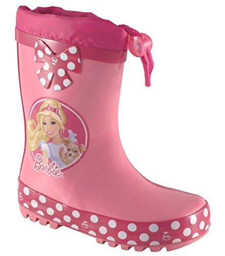 barbie-by-perlettigirls-barbie-botas-de-agua-de-trabajo-chica-color-rosa-talla-26-eu-nino