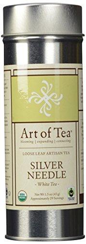 Organic Silver Needle Loose Leaf White Tea - 1.5oz Tin