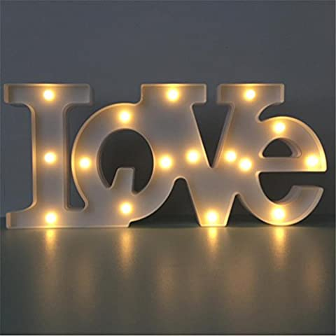 BZJBOY Lampe de Table Enfants Led Night Light Love Modélisation