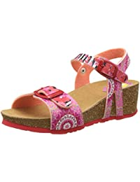 Desigual Strips W, Heels Sandals para Niñas