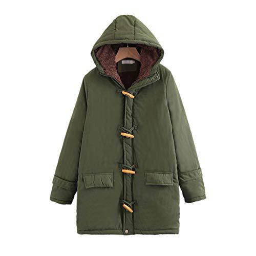 Tookang cappotto invernale da donna parka con cappuccio in pelliccia ecologica top giubbotto lungo caldo del rivestimento 43 colori s-xxxl