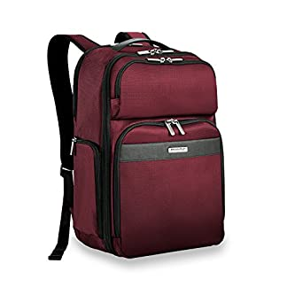 Briggs & Riley Transcend Cargo Backpack, 17″, 24.5 litres, Slate Mochila tipo casual, 46 cm, liters, Gris (Slate)