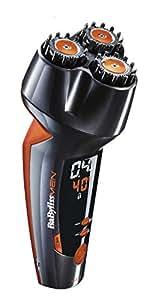 BaByliss For Men SH510E - Le Designer, Regolabarba digitale con testine rotanti  - Regolazione elettronica fino a 12 mm - Massima precisione 0,2 mm
