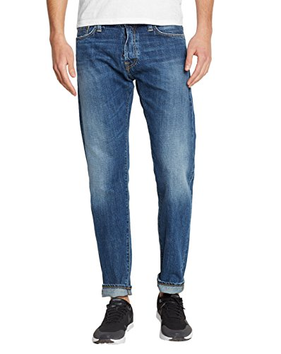 carhartt-wip-uomo-jeans-tapered-fit-klondike-edgewood-bleu-brut-delave-pour-homme-