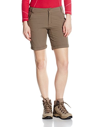 The North Face Damen W Exploration Convertible Pants Hose Braun (Weimaraner Brown)