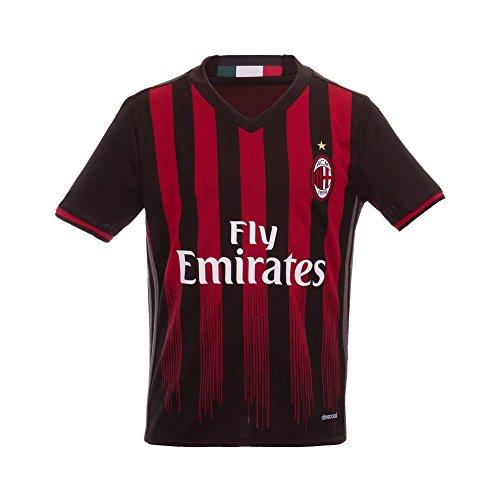 Nueva Temporada AC Milan Piloto montolivo Home Jersey de fútbol en rojo para niños jóvenes Kid, Infantil, rojo