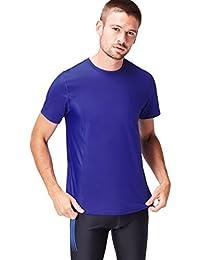 Activewear Men's Mesh Panel Sports T-Shirt