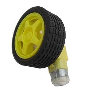 riorand Smart Roue/pneu de voiture avec moteur Gear pour Arduino/LPC/avr/ARM voiture projet