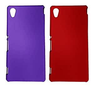 Winsome Deal 2 Pieces of Exclusive Quality Hard Back Cover Case For Sony Xperia M4