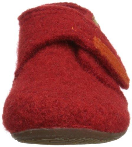 Living Kitzbühel Unisex Baby Babyklett Lauflernschuhe Rot (rot 350)