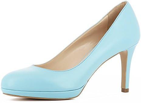 Evita Shoes Bianca - Zapatos de vestir de Piel para mujer
