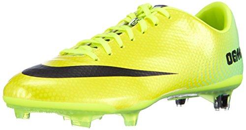 NIKE Men   s Mercurial Vapor Football Training Shoes Yellow Size  11 UK