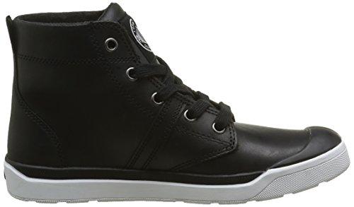 Palladium Palaru Hi Lea F, Sneaker Basse Donna Noir (115 Black/White)