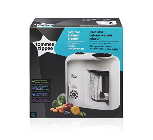Tommee Tippee 440065 Dampfgarer & Mixer für Babynahrung, weiß - 4