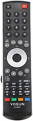 yosun-uk Generic reemplazado TV Remote Control ct-8003) para Toshiba TV