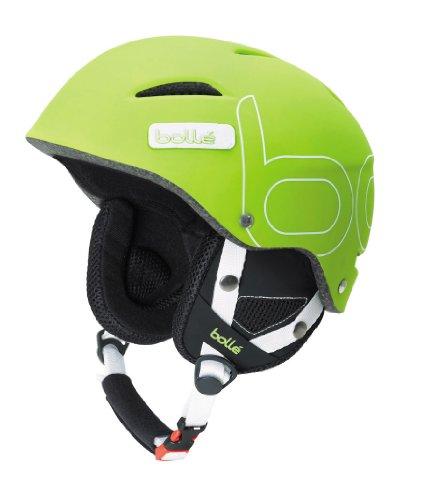 Bollé B-Style Casco de Esquí, Unisex Adulto, Verde (Soft Green), 58-