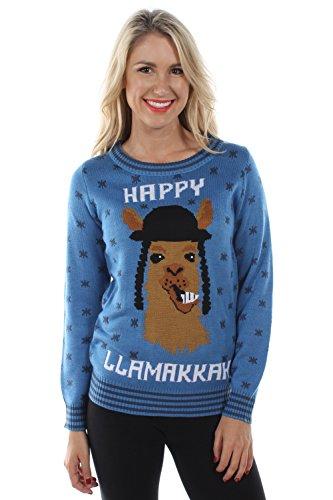 Tipsy Elves Damen Pullover Blau Blau Gr. Small, Blau - Blau