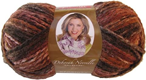 Deborah Norville Collection sérénité Chunky poids Yarn-chocolat