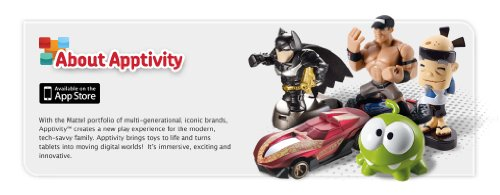 Imagen 5 de Mattel - Figura Apptivity Batman, color azul (Y0203)