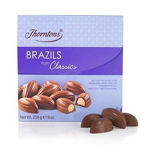 Thorntons Classics Milk Brésils (256G) (Pack de 2)
