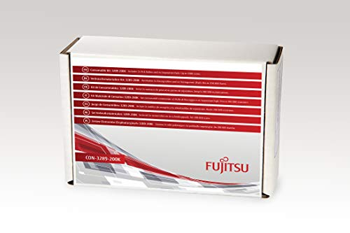 FUJITSU Includes 2X Pick Rollers and 4X Separation Pads Estimated Life Up to 200K scans - Pick Roller Pad