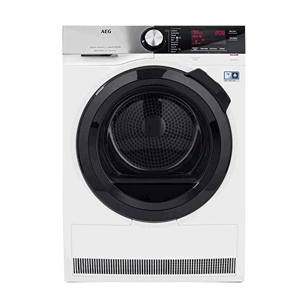 AEG T8DSC949R 8000 Series 9 kg Heat Pump Tumble Dryer White 41g0ytcamPL