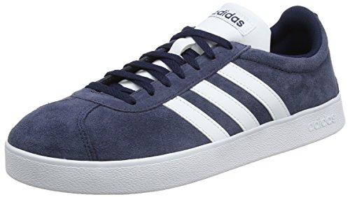 adidas Herren VL Court 2.0 Fitnessschuhe, Blau (Maruni/Ftwbla/Ftwbla 000), 41 1/3 EU
