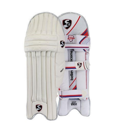 SG Test Cricket Batting Bein Guard Pads rechts und links (Farbe kann variieren)