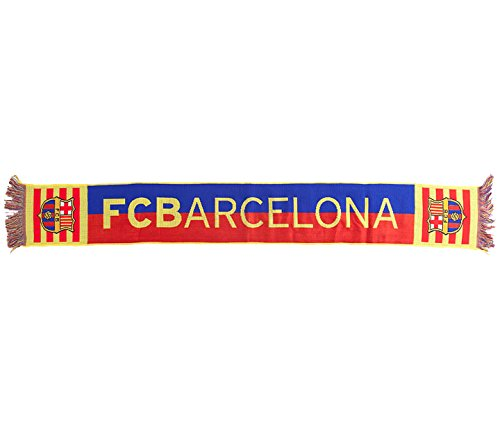 BUFANDA OFICIAL FC BARCELONA BLAUGRANA 2016 140x20cm