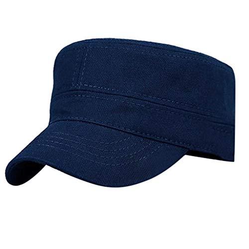 FBGood Mode Atmungsaktiv Flacher Hut, Sommer Klappbare Baseball Kappe Sonnenhut Herren Damen Outdoor Bergsteigen Visiere Hüte Sport Hut für Wandern, Outdoor, Reisen -