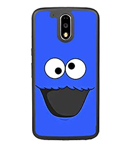 Funny Cartoon 2D Hard Polycarbonate Designer Back Case Cover for Motorola Moto G4