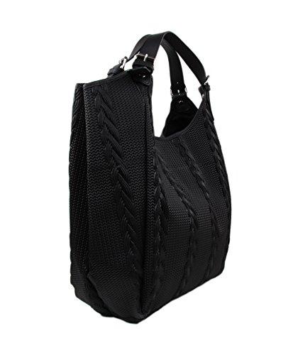 d88e2c57b97d8 SLINGBAG II Simone XL Shopper   Schultertasche   Beuteltasche aus hochwertigem  Leder mit Flechtoptik   FARBAUSWAHL ...