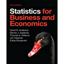 Statistics for Business and Economics by Jim Freeman (2014-02-02)