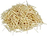 1000 Plain Natural Wooden Matchsticks Bulk Pack
