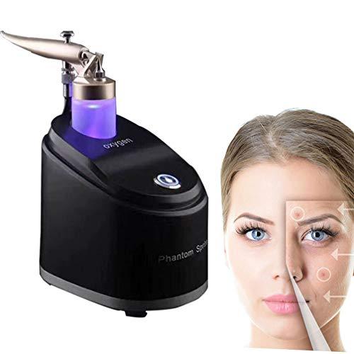 Tragbare Sauerstoff-Sprayer Gesichts Dampfer Spa Aufhellung Falten Feuchtigkeitsspendende Sauerstoff Oberfläche Massage Gesichts Sauerstoff Maschine