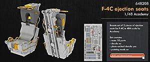 Eduard EDB648208 - Kit de Asientos de expulsión F-4C de latón 1:48