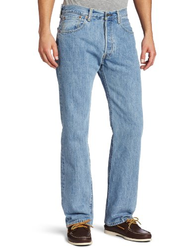 LEVIS 501 0134 LIGHT STONEWASH W36L34 (Jungs Levis)