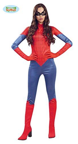 Superheldin Spinne - Kostüm für Damen Gr. M-L, Größe:M