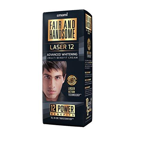 Fair & Handsome Laser 12 Advanced Whitening Multi Benefit Cream, 30g