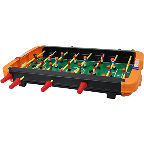 Olly Polly kids Imported High Quality Mid-sized Foosball Mini Football Table Soccer Game for kids Big fun Gift toy Kids Board Game  available at amazon for Rs.1339