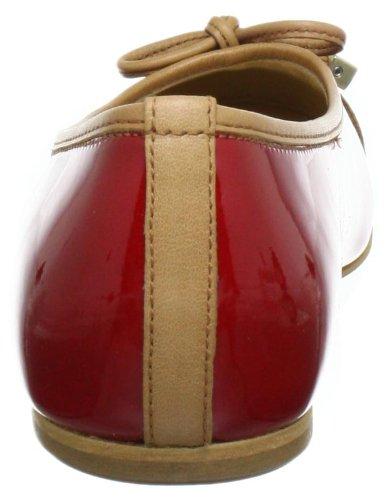 Gabor Shoes 6410190 Damen Ballerinas Rot (opera/caramello)