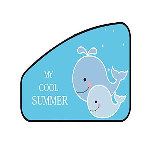 FDSEA Auto Sonnenschirm,Schützen Sie Ihre Babys und Kinder vor der Sonne/UV-Strahlung - Auto Sonnenschutz Sonnenschutz Auto Universalfenster,Firstofficer